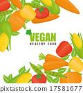 Vegan food design. 17581677