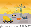 crane, construction, industry 17582487