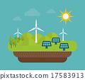 vector, ecology, energy 17583913