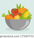 Vegan food design. 17584753