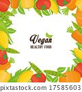 Vegan food design. 17585603