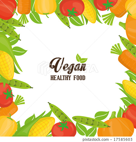 Vegan food design. 17585603