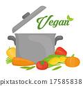 Vegan food design. 17585838