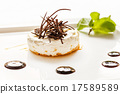 cheesecake with chocolate 17589589