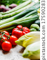 fresh vegetables 17590283