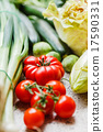 fresh vegetables 17590331