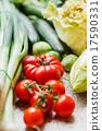 fresh vegetables 17590331