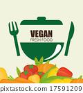 Vegan Food design 17591209