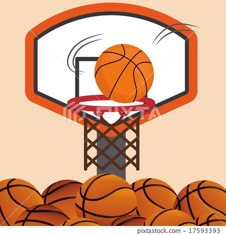 Basketball design 17593393