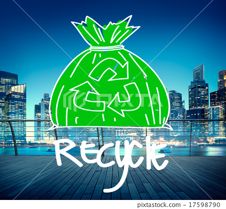Recycle Reuse Eco Friendly Green Business Concept 17598790