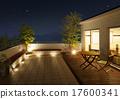 balconies, balcony, wooden deck 17600341