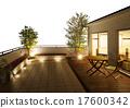 balconies, balcony, wooden deck 17600342