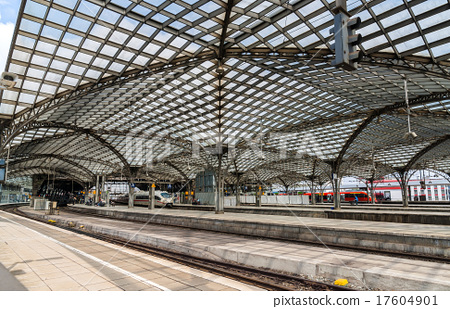 Roof of Cologne main station - Germany 17604901