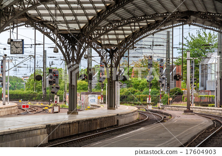 Cologne main rail station - Germany 17604903