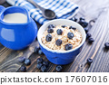 flakes, oat, blueberry 17607016
