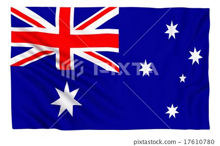 Flag of Australia 17610780