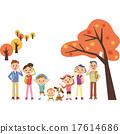 三代人 家庭 家族 17614686