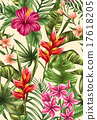 Floral seamless pattern 17618205