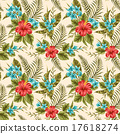 Floral seamless pattern 17618274