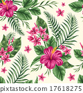 Floral seamless pattern 17618275