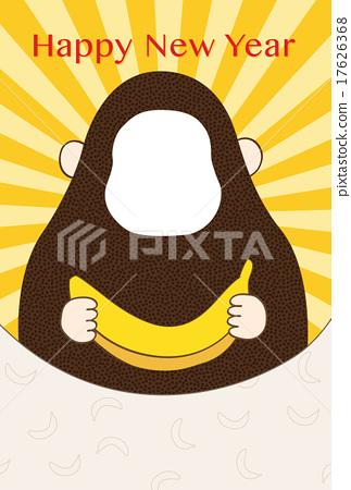 猴子 猴 猴生肖 17626368
