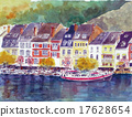 벨기에 관광 디낭 마을 눈물 스케치 17628654