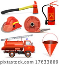 Vector Fire Prevention Icons 17633889