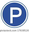 Parking sign 17638526