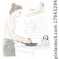 烹飪 主婦 家庭主婦 17643294