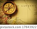 เข็มทิศ,โบราณ,ของเก่า 17643922