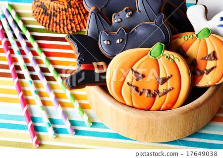 Halloween homemade gingerbread cookies 17649038
