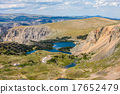 Scenic view along the Beartooth Highway in Montana 17652479