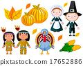 Thanksgiving Day Icon Set 17652886