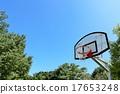 籃筐 運動 藍天 17653248