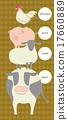 vectors, vector, livestock 17660889