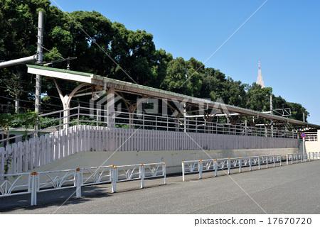 하라주쿠 역 북부의 황실 전용 홈의 모양 17670720
