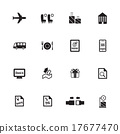 Airport icons. Airline icons. vector illustration 17677470