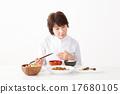 식사, 여성, 여자 17680105