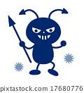 virus, bacterium, cavity 17680776