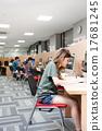 大學生 圖書館 人 17681245