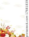 背景 開花 插圖 17681839