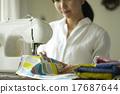 縫紉 媽媽 母親 17687644