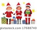 산타, 선물, 프레젠트 17688740
