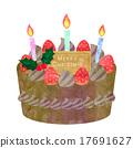 巧克力蛋糕 西式甜点 糕点 17691627