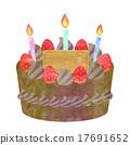 巧克力蛋糕 17691652