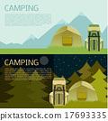 露营 营地 矢量 17693335