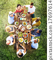 Friends Friendship Outdoor Dining People Concept 17697614