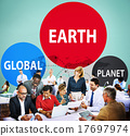 Earth Global Planet Globalization Connection Concept 17697974