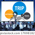 Trip Travel Destination Holiday Journey Concept 17698182