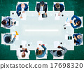 office, meeting, table 17698320